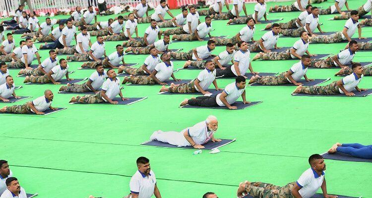 International Day Of Yoga: PM Leads Mass Yoga Demonstration At Ranchi