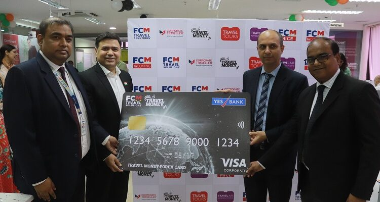 Travel Money with YES BANK Launched Forex Card on Visa Network