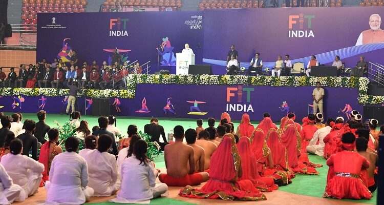 PM Launches the Fit India Movement