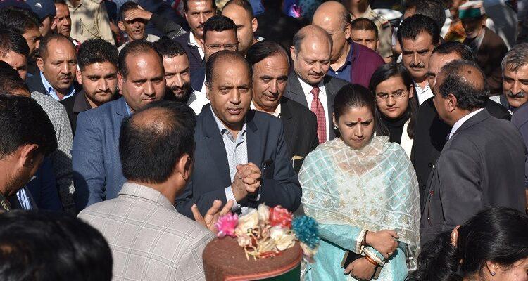 CM Jai Ram Thakur Inaugrates Himachal Apple Festival