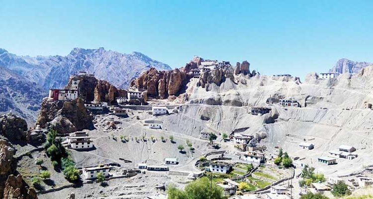 Dhankar: A Fort on a Cliff
