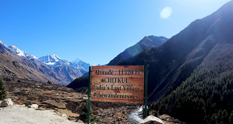 Chitkul: A Place Where Time Seems to Have Come to a Halt